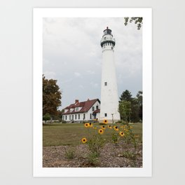 Wind Point Lighthouse, Wind Point, WI Art Print