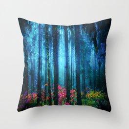 Magicwood #Night Throw Pillow