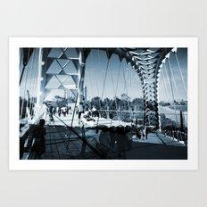 Humber River Bridge Art Print