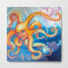 Sea Creatures Metal Print