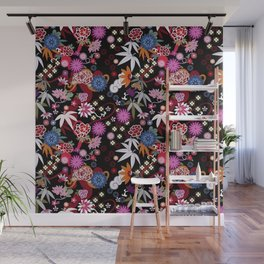 Kimono Black Wall Mural