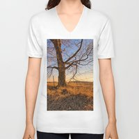country V-neck T-shirts featuring Country by Scottie Williford