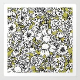 Petal Pops Art Print