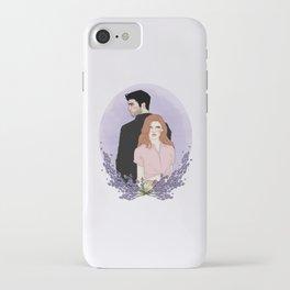 Derek Hale/Lydia Martin iPhone Case