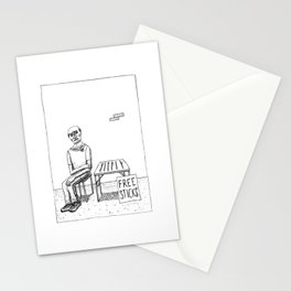 Free Sticks Stationery Cards