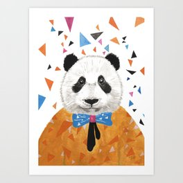 My Name is Ball - Panda1 Art Print