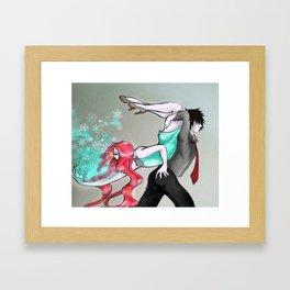 Ice Dance Framed Art Print