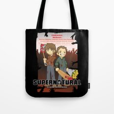 Supernatural - Goin to the Winchesters Tote Bag