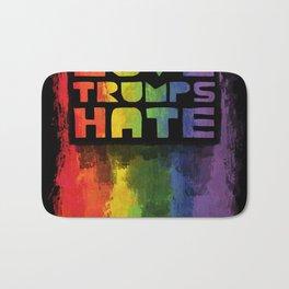 Gay Pride design- Vertical Bath Mat