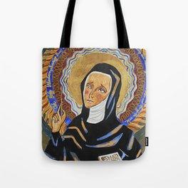 St. Hildegard of Bingen Tote Bag