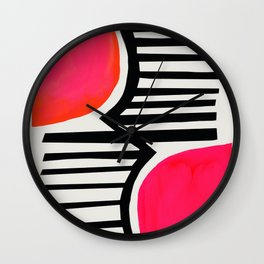 Sunset Shadows Wall Clock