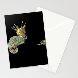Chameleon Monarchy Stationery Cards