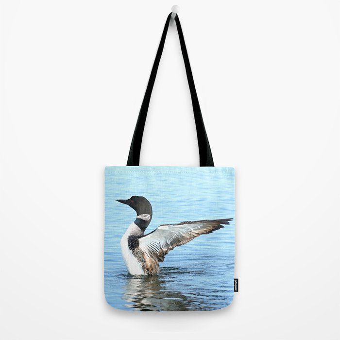 Loon Breach Tote Bag