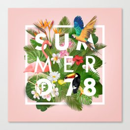 SUMMER of 78 Canvas Print