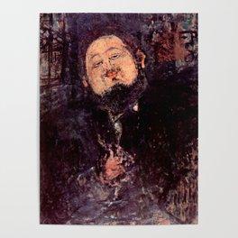 """Amedeo Modigliani """"Diego Rivera"""" Poster"""