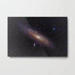 Andromeda Galaxy Metal Print