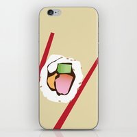 sushi iPhone & iPod Skins featuring Sushi by Nathan Rhoads