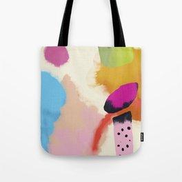 la vie en rose  art abstract minimal Tote Bag