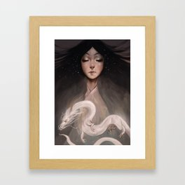The Spirit of Tomoe Gozen II Framed Art Print