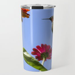 Hummingbird Happiness Travel Mug