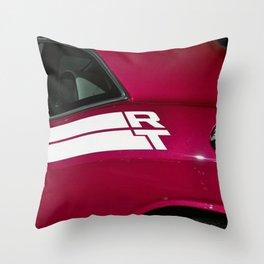 Fuchsia Panther Pink Challenger RT Throw Pillow