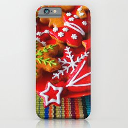 Holiday Cookies iPhone Case