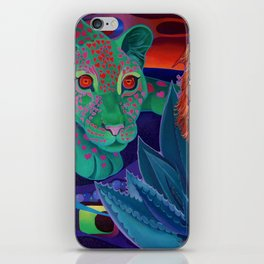 Whispers of the night. iPhone Skin