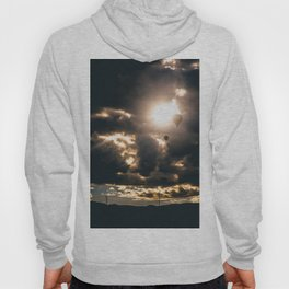 Albuquerque Hot Air Balloon Sunrise Hoody