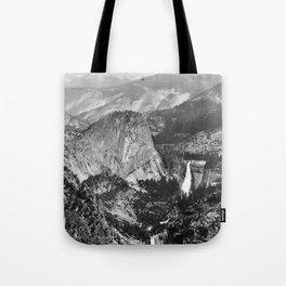 Vernal Falls and Nevada Falls in Yosemite National Park, California, 1901 Tote Bag