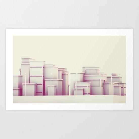 City Block Art Print