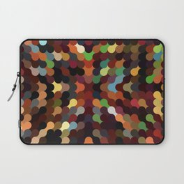 carly - vivid colourful playful modern abstract pattern Laptop Sleeve