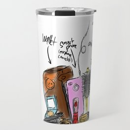 GIRL nowadays Travel Mug