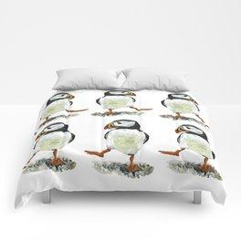 Dancing puffin Comforters