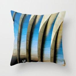KC Industrial Throw Pillow