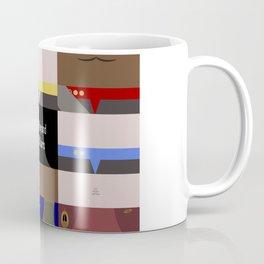 DS9 - Far Beyond the Stars - Minimalist Star Trek DS9 Deep Space Nine - startrek - Trektangles Coffee Mug