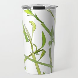 Scattered Bamboos Travel Mug