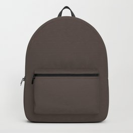 February Bouquet ~ Liver Brown Backpack