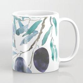 black olive watercolor 2018 Coffee Mug