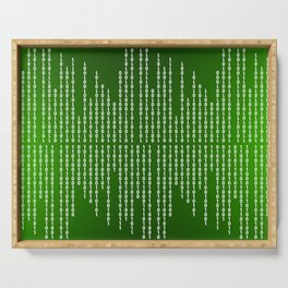 Binary Code Serving Tray