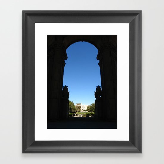 Palace of Fine Arts II Framed Art Print