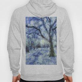 Blue Forest Van Gogh Hoody