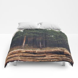 Sad timber industry Comforters