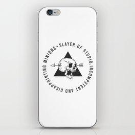 Slayer Title iPhone Skin
