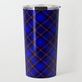 Scottish Fabric Blue Travel Mug