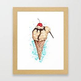 Kiwi Summer Framed Art Print