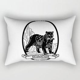 Bryce Canyon Emblem Rectangular Pillow