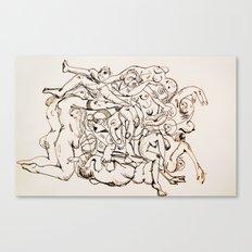 Orgy Canvas Print
