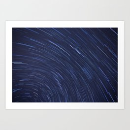 Star Trails Two Art Print