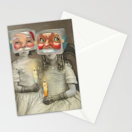 SURREAL HOLIDAY2 Stationery Cards