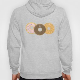Donuts! Cute and yummy donut friends. Hoody